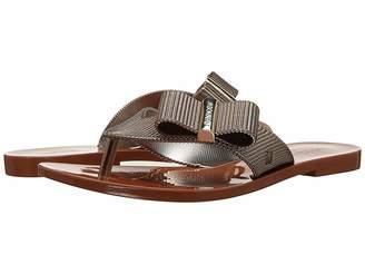 Jason Wu + Melissa Luxury Shoes + Melissa Chrome Sandal