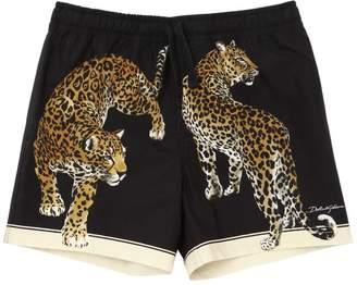 Dolce & Gabbana Cotton Poplin Shorts