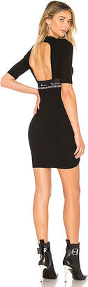 Alexander Wang Compact Rib Cutout Dress