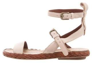 Henry Beguelin Ranch Leather Sandals w/ Tags