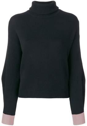 Pinko cashmere roll neck jumper