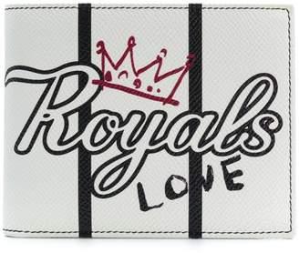 Dolce & Gabbana Royals print bi-fold wallet