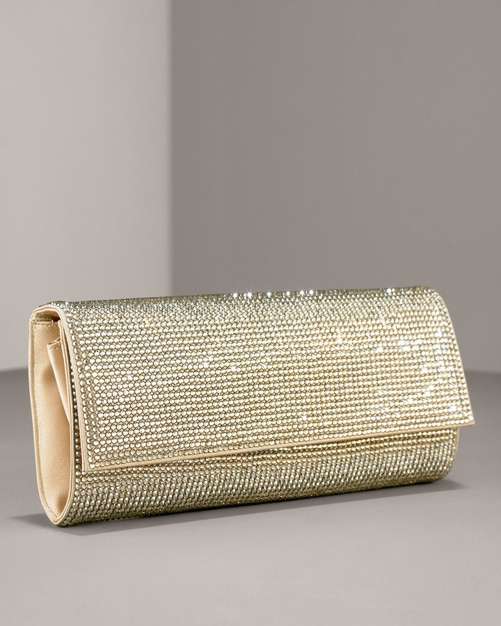 Leiber Ritz Fizz Soft Crystal Clutch