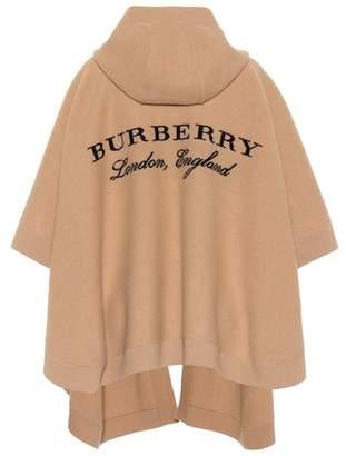 Burberry Carla wool-blend poncho
