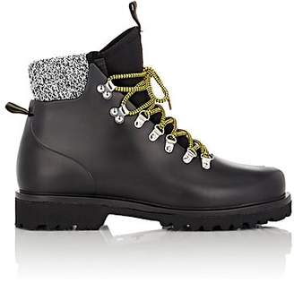 Barneys New York Men's Rubber Hiking Boots - Black