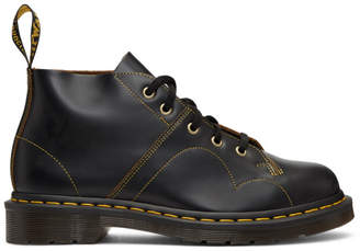Dr. Martens Black Vintage Church Boots