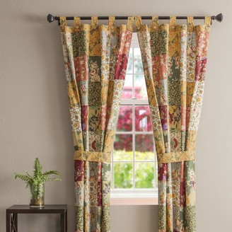 Greenland Home Fashions Antique Chic Window Curtain Set