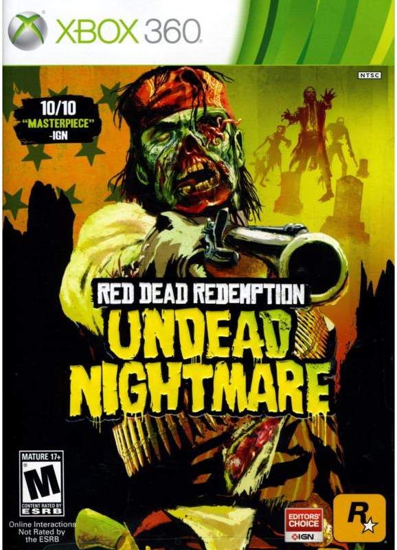 Microsoft Red Dead Redemption Undead - Xbox 360