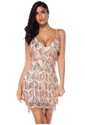 25e7b029bc051 Sequin Fringe Dress - ShopStyle UK