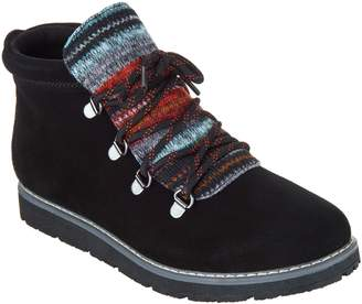 Skechers Bobs Alpine Knit Detail Hiking Boots - S'mores