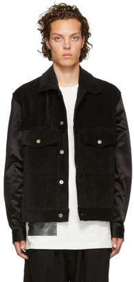 Song For The Mute Black Worker Jacket