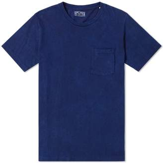 Blue Blue Japan Mt Fuji Sakura Tee