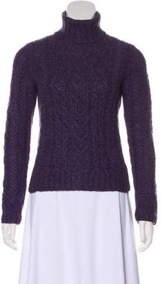 Ralph Lauren Black Label Cashmere Cable Knit Sweater