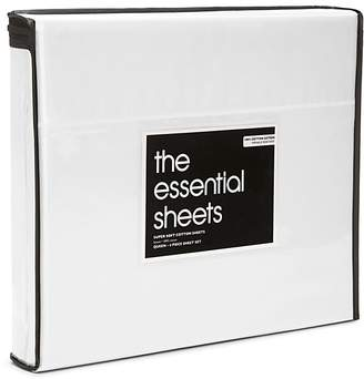 Bloomingdale's Essentials 400TC Wrinkle Free Sheet Set, Twin - 100% Exclusive