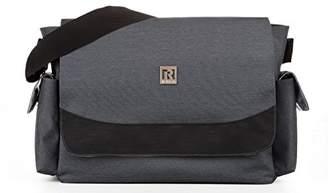 Ryco Vogue Messenger Diaper Bag, Ash