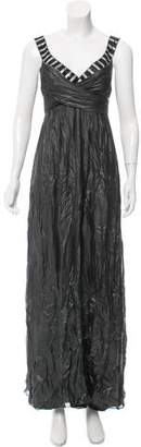 Nicole Miller Metallic Evening Dress w/ Tags
