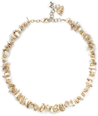 Rosantica Gold-tone Mother-of-pearl Necklace