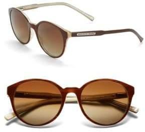 Andrew Marc 51mm Round Sunglasses