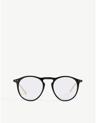 Linda Farrow LFL608 oval-frame glasses