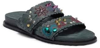 Free People Spellbound Embellished Slide Sandal