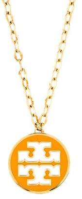 Tory Burch Logo Pendant Necklace