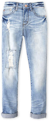 Hannah Banana Girls 7-16) Distressed Jeans