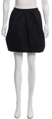 Louis Vuitton Silk-Blend Mini Skirt w/ Tags