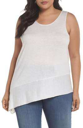 Nic+Zoe Traveler Asymmetrical Hem Tank Top