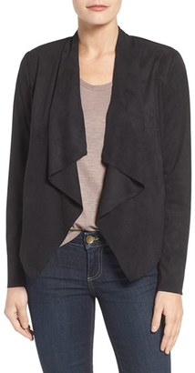Women's Kut From The Kloth Tayanita Faux Suede Jacket $88 thestylecure.com
