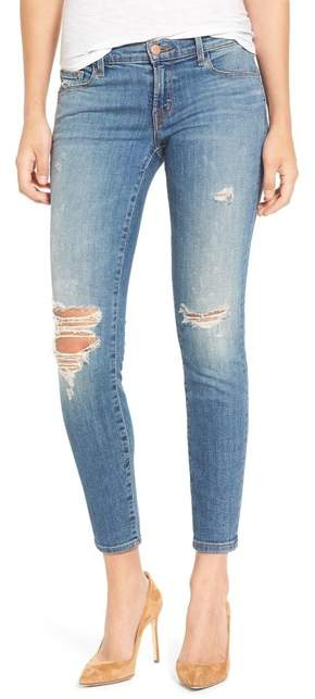 J BrandJ Brand Ripped Crop Skinny Jean