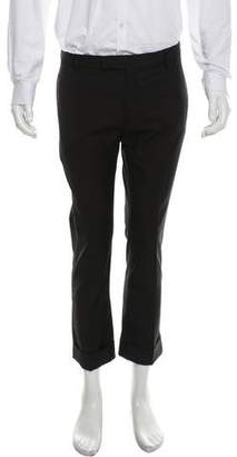 Christian Dior Wool Flat Front Pants