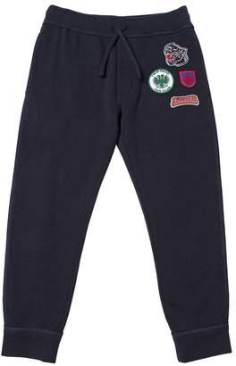 DSQUARED2 Scout Patches Cotton Sweatpants