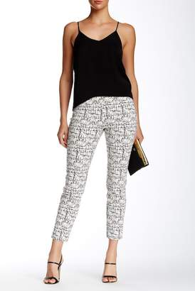 Insight Printed Techno Faux Fly Pant $102 thestylecure.com