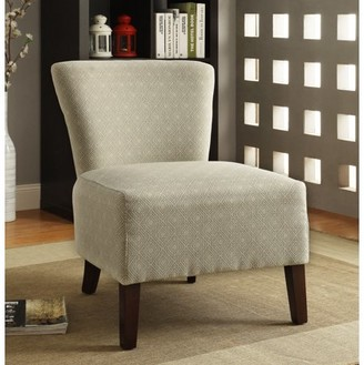 Furniture of America Pertola Diamond Pattern Accent Chair