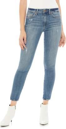 Joe's Jeans Icon Split Hem Crop Skinny Jeans
