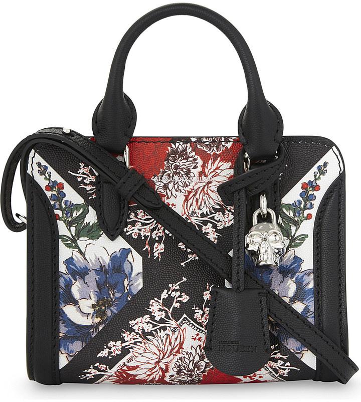 Alexander McQueenAlexander Mcqueen Floral leather cross-body bag