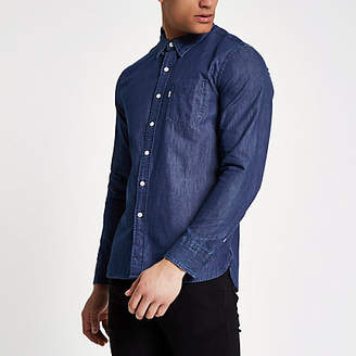 Levi's long sleeve denim shirt