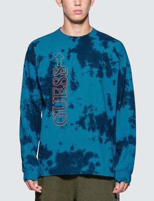 GUESS 88rising X 88 Rising L/S Tye-dye Graphic T-Shirt