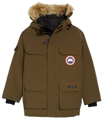 Canada Goose PBI Expedition Down Parka with Genuine Coyote Fur Trim