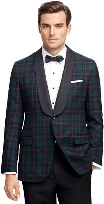 Brooks Brothers Fitzgerald Fit Tartan Tuxedo Jacket