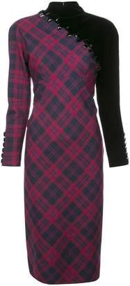 Marc Jacobs check tube dress
