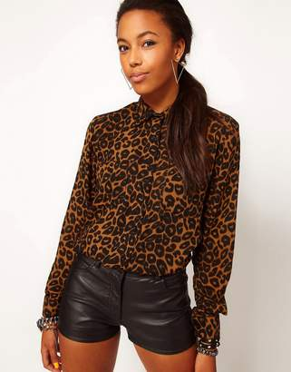 Motel Leopard Shirt