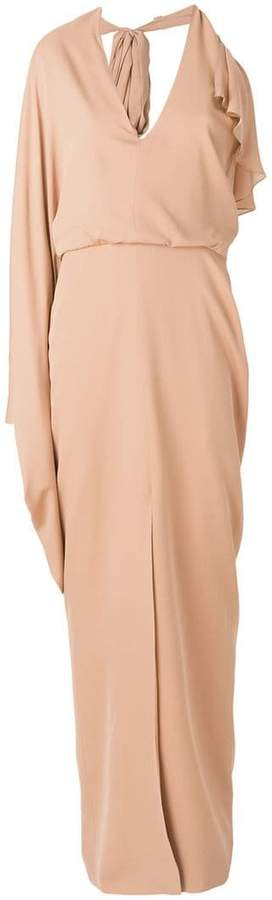 Tom Ford single sleeve evening dress