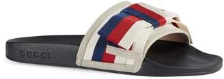 Gucci Pursuit Bow Slide Sandal