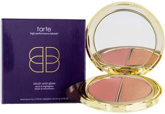 Tarte 0.21.Oz Rose Gold Blush And Glow Blush And Highlighter