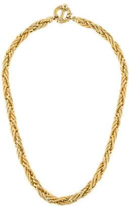 18K Woven Necklace