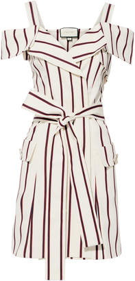 Alexis Edrea Striped Mini Dress