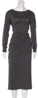 Brunello Cucinelli Virgin Wool Monili Dress