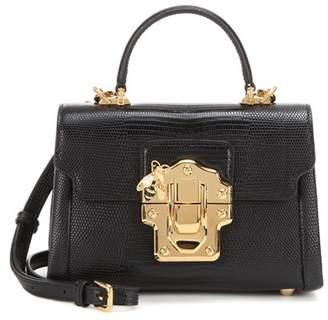 Dolce & Gabbana Lucia Mini leather cross-body bag