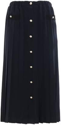 Miu Miu (ミュウミュウ) - Miu Miu Pleated Midi Skirt